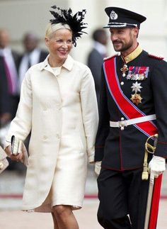 Crown Prince Haakon and Princess Mette-Marit of Norway