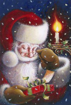 Mary Christmas, Christmas Scenes, The Night Before Christmas, Merry Little Christmas, Father Christmas, Retro Christmas, All Things Christmas, Christmas Time, Christmas Cards