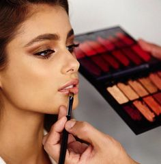 runwayandbeauty:  Taylor Marie Hill - Victoria's Secret Photoshoot | Backstage 2015.