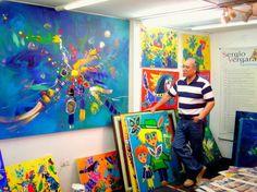"""Sergio Vergara - """"El Pintor de los Niños"""""""