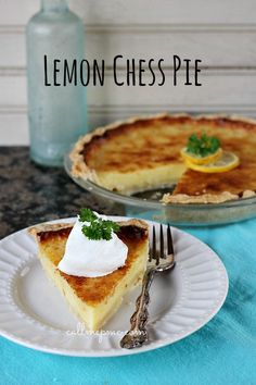 With the intense lemon flavor, it tastes like a lemon drop but in pie form and is definitely a drool-worthy dessert.