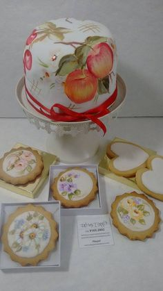 Cake, Plates, Tableware, Desserts, Food, Hand Painted Cakes, Brazil, Licence Plates, Tailgate Desserts