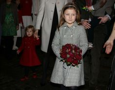 HRH Princess Isabella of Denmark followed by her sister Princess Josephine attend church Christmas pageant 12/15/2013