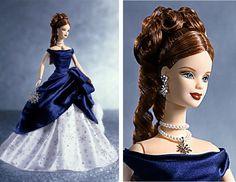 Holiday Treasures Barbie 2001