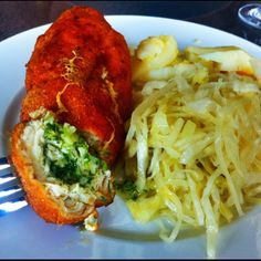 Real chicken Kiev! Food To Make, Turkey, Chicken, Meat, Cooking, Melbourne, Recipes, Peru, Baking Center