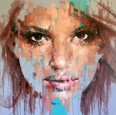 Jimmy Law & uniqe expressive portraits #artpeople