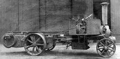 Bretherton steam wagon built by Paxman