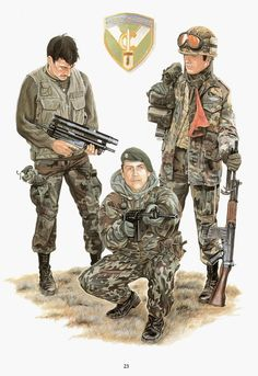 Military Gear, Military History, Military Uniforms, Military Drawings, Falklands War, Military Insignia, War Photography, Modern Warfare, Special Forces