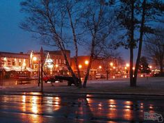 Downtown Gaylord, Michigan, photo by Picture Michigan