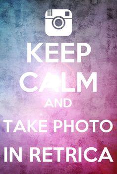 Take photo in retrica