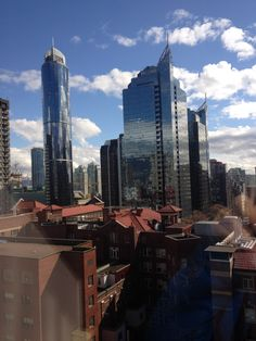 View from 8th Floor, St. Paul's Hospital, downtown Vancouver photo by Andrea McRobbie
