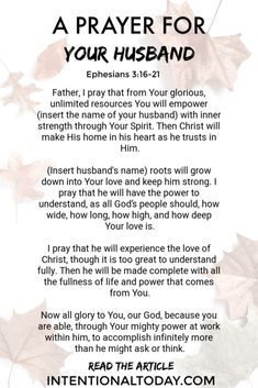 Happily Married Men Reveal 21 Secrets For A Happy Marriage – Rot Prayer For My Marriage, Broken Marriage, Godly Marriage, Prayer For You, Happy Marriage, Marriage Advice, Love And Marriage, Husband Prayer, Healthy Marriage