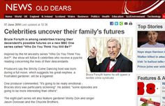 Celebrities uncover their family's futures