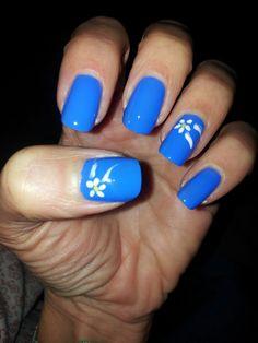 My nails. ..