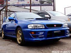 Subaru Impreza WRX Sti RA