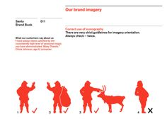 Santa: The Brand Document (of you're going to use Santa's image please adhere to his official brand guidelines.