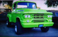 Sweet green Mopar  Dodge truck