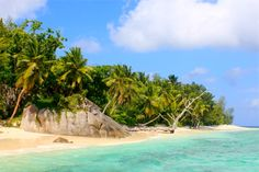 #paradise #seychelles #whitesandbeaches #heaven #island #desertedisland