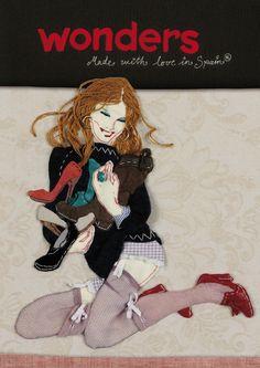 """""""Wonders AW2012"""" I Con su colección Otoño/Invierno 12/13, la marca de calzado femenino Wonders apostaba por seguir internacionalizando el concepto """"Made with Love in Spain"""", poniendo en valor la labor artesana y el mimo que se esconde detrás de cada par de Wonders. Este año, con el reto añadido de añadir una dosis de cotidianeidad que identificara a la mujer con el producto de una manera que resultara compatible con la actual situación del mercado. #Imaginarte #Fashion #Print #Shoes"""