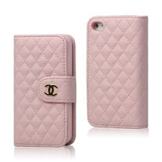 Amazon.com: Grid C Wallet Flip Leather Case for Iphone 4 4s - Pink: Cell Phones & Accessories