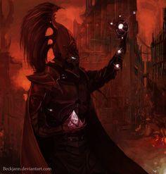 Dark Eldar: Soul Trap by ~Beckjann on deviantART
