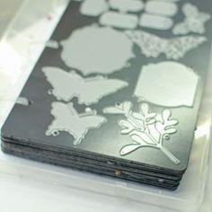 Splitcoaststampers - Product Focus - DIE storage 9 magnetic panels with binder box. $30.80