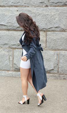 Loving my draped coat by Club Monaco. New post on the blog!