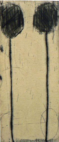 """TOT #35 by Seiko Tachibana, etching, 5""""X2"""""""