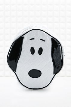Rodnik X Peanuts Quilted Snoopy Head Backpack in White