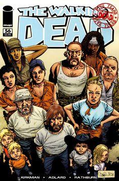 The Walking Dead : Comic Artwork