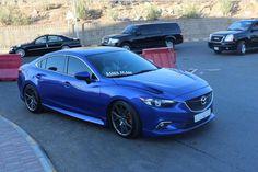 ♨️AeroKit & Sport Hood for Mazda 6 by MV-TUNING.ru . Еще один кадр синей…