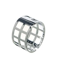 Take a look at this Silver Cutout Bangle by Suvelle on #zulily today!