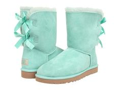 mint UGG Bailey Bow