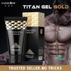 Original Titan Gel Gold Russia Penis Enlargement Cream Retarder Intim Gel  For Help Male Potency Penis Growth Delay Cream. ddc6eebe17