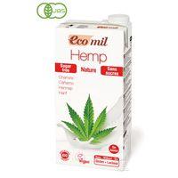 EcoMil ヘンプミルク原材料:有機麻の実、有機麻オイル、有機タピオカスターチ、ひまわりレシチン