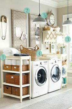 We need some serious organizing in our laundry room!
