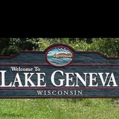 Lake Geneva Wisconsin......wonderful place for a get-away and it always brings back such found childhood memories for me!