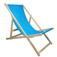 Gartenliege Liegestuhl Strandliege Sonnenliege Holz Garten Liege Klapp 120 Kg