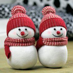 Handmade diy socks doll fabric material kit new year gift baby