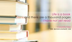 Life is a book #life #quotes