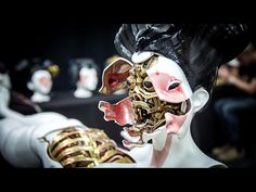 Adam Savage Checks Out The Robotic Geisha From Ghost In The Shell