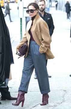 Victoria Beckham Out and About in New York
