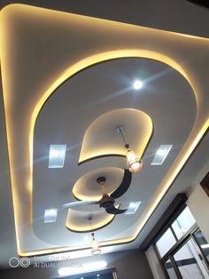 False Ceiling For Hall, Simple False Ceiling Design, Plaster Ceiling Design, Gypsum Ceiling Design, House Ceiling Design, Ceiling Design Living Room, Bedroom False Ceiling Design, Tv Cupboard Design, Salon Simple
