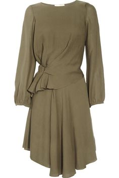 Vanessa Bruno Draped hammered-silk dress