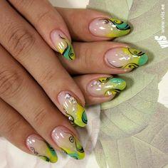 lemons-nail-art-designs-5.jpg (600×600)