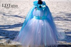 Disney Princess Elsa Frozen Inspired Hightop Lined Tutu Party Dress / Great for Birthday Parties, dress up or photoshoots!