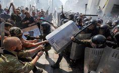 notizie:   Ucraina: circa 100 agenti feriti a KievDurante p...