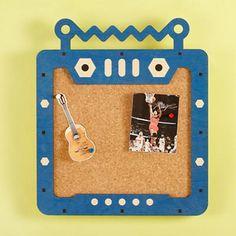 Kids' Bulletin Boards: Kids Robot Corkboard