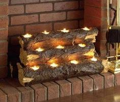 Unused fire place ideas