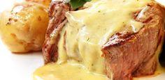 Filet mignon de porc au Maroilles Fauquet … – The most beautiful recipes Steak Recipes, Sauce Recipes, Cooking Recipes, Gorgonzola Cheese Recipes, Béarnaise Sauce, Cheese Sauce, Filet Mignon Steak, Filet Mignon Recipes Grilled, Filet Mignon